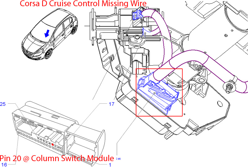 Vauxhall Cruise Control Diagram : Corsadcruise pecky the tech guru