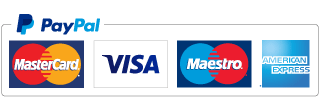 We accept debit and credit cards via Paypal Here terminal