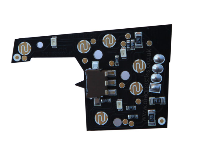 You now have the circuit board ready for the LED′s