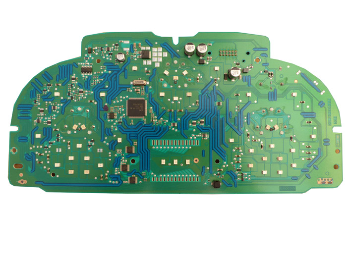 With screws removed, circuit board can be removed.